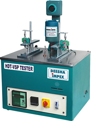 Heat Deflection and Vicat Softening Temperature Tester